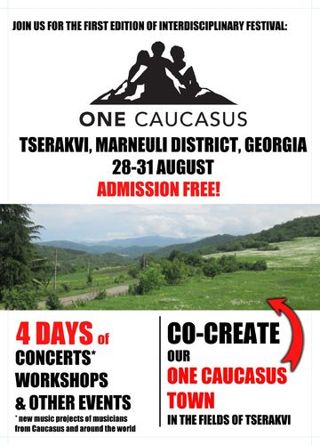One Caucasus 2014 - leaflet project