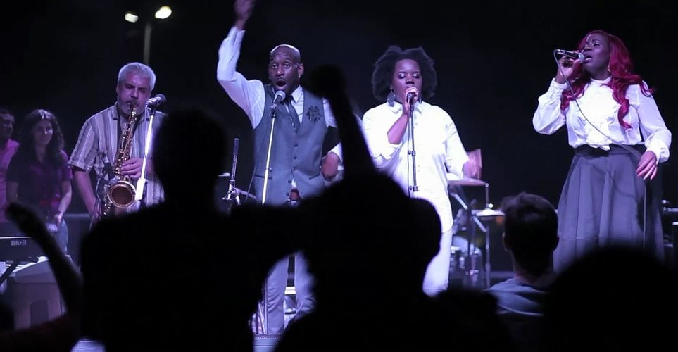 Clive Brown & The Shekinah Singers (UK/Jamaica/Barbados) @OC2014